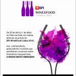 Wine&Food 2016
